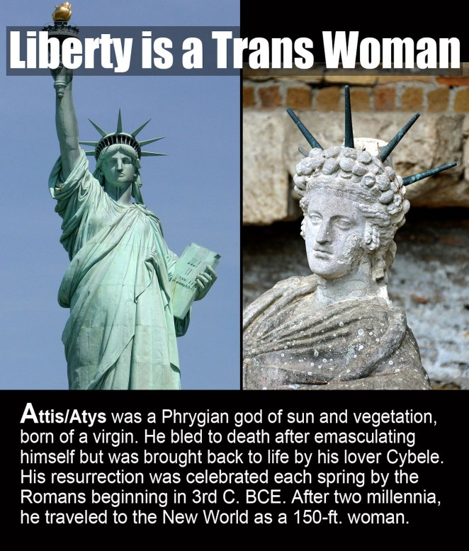 Liberty is a Trans Woman